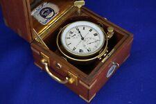 Ulysse Nardin Marine Chronometer, Rare smaller type.