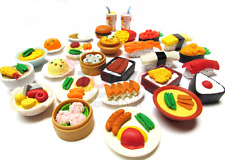 20 of Assorted Iwako Japanese Puzzle Eraser - Restaurant Food Collection (20