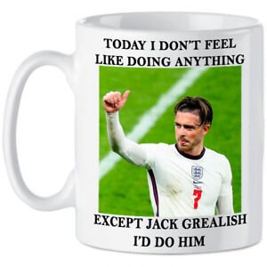 Jack Grealish England Football Funny Gift For Friends Girls Novelty Euros Sports