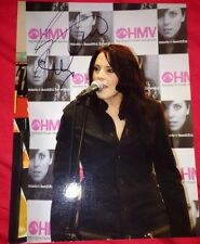 MELANIE C SIGNED 8X6 HMV PHOTO ONE MUSIC AUTOGRAPH SPICE GIRLS 100% GENUINE