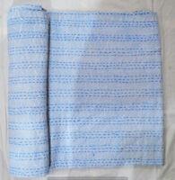 Baumwolle indische Quilt Kantha Königin Bettdecke Hand Block Print  Tagesdecke