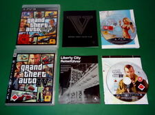 Grand Theft Auto GTA 5 V Five u. GTA 4 IV fuer PS3 Playstation 3 AB 18