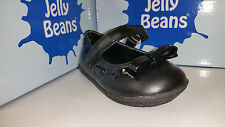Jelly Beans Nada Toddler Girl's Shoes Black / Black PT / Navy Size 4-8