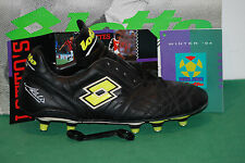 Deadstock Lotto IN ALBERTINI GRINTA Gullit Football Boots VTG Juve Milan Italy
