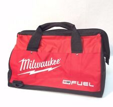 "Milwaukee 16"" New Fuel Heavy Duty Contractor Tool Bag 16"" L x 11"" W x 11"" D"
