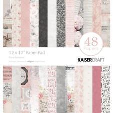 Floral Romance Collection 12x12 Scrapbooking Paper Pad Kaisercraft PP240