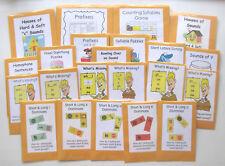 Teacher Made Literacy Center Games Second Grade Ela Phonics & Word Recognition