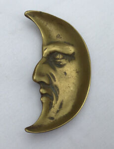 """Vintage """"Art Deco"""" period """"Man in the Moon' trinket/pin dish from the 1920s"""