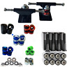 "Combo 3"" Trucks+60mm Wheels Abec 9 Bearing Fit For Penny Style Retro Sktateboard"