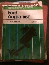 Ford Anglia 105E Pearson's Vintage Workshop Manual 1963