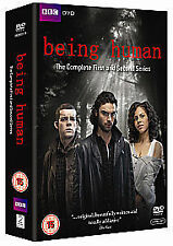 Being Human - Series 1-2 - Complete (DVD, 2010, 5-Disc Set, Box Set)