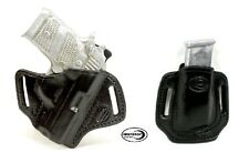 Sig Sauer P938 No Laser OWB Shield Holster and Mag Holder combo R/H Black
