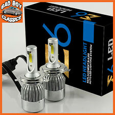 H4 LED Headlight Bulbs High / Low Beam Direct Replacements 6000k CLASSIC CARS