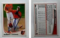 Robert Andino Signed 2013 Topps #176 Card Baltimore Orioles Auto Autograph