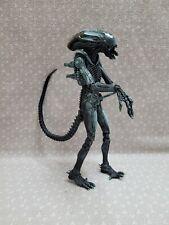 "NECA Fox Alien Dark Blue Xenomorph Warrior Arcade Game Action Figure 7"""