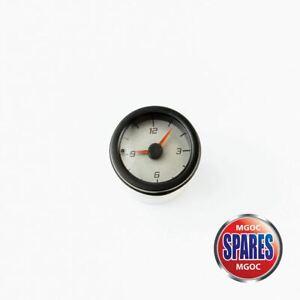Genuine MG Rover MGTF TF Analogue Clock Silver Face YFB000240