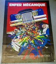Affiche de cinéma : ENFER MECANIQUE d'Elliot SILVERSTEIN