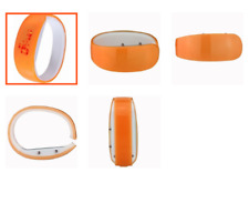 Konektopshop LED Bracelet Digital Bangle Watch - Orange