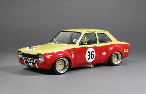 Ford Escort TC MK1 Nürburgring 1968 Glemser Ronal Racing  Alufelgen Umbau 1/18