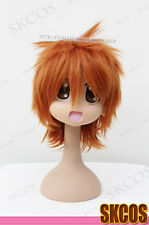 D.Gray-man LAVI COSPLAY wig costume Orange colour short