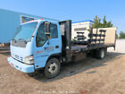 2006 Isuzu NQR 21' Flatbed Stakebed Truck Liftgate Diesel A/T bidadoo -Repair