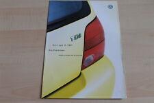 93344) VW Lupo 3L TDI - Preise & Extras - Prospekt 07/2000