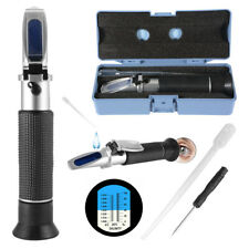 Handheld Salinity Refractometer for Marine Aquarium Fish Tank Salt Water Te698