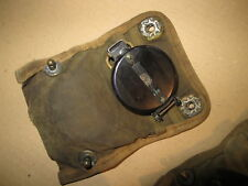 COMPASS, LENSATIC US ARMY WW2 WITH POUCH, GURLEY TROY N.Y., EXCELLENT / Offer