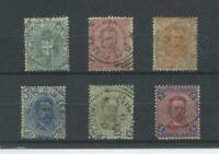 REGNO 1891/6 UMBERTO I 6V. US.