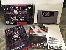 Ultimate Mortal Kombat 3 (Super Nintendo Entertainment System, 1996)