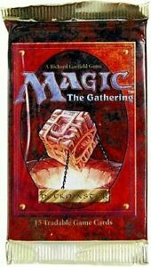 MTG: 4th EDITION Factory Sealed Booster Pack from Box - Magic - English