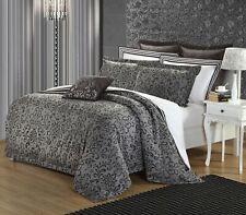 Duvet Cover Set/3pcs Cotton/YARN DYE 200TC Iron Scroll  Queen By Malibu Home