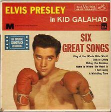 """RARE ELVIS PRESLEY """"KID GALAHAD"""" USA 60'S EP RCA VICTOR EPA-4371"""