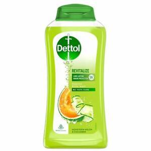 Dettol Body Wash and shower Gel, Revitalize - 250ml honedew lemon & cucumber fs