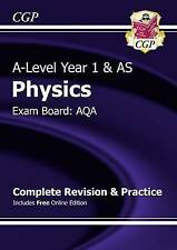 New A-Level Physics: AQA Year 1 & AS Complete Revision & Practice with Online Ed