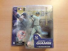 MLB McFarlane Figur Jason Giambi New York Yankees Trikot pinstripes variant