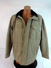 CATALINA OUTERWEAR MENS BEIGE INSULATED CASUAL WINTER JACKET SIZE L
