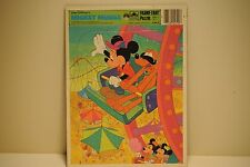 Walt Disney's Mickey Mouse Vintgage puzzel, Frame tray Puzzle, 1984, U.S.A. V.G.