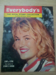 VINTAGE MAGAZINES - EVERYBODY`S - HELEN PAYNE - 7th March 1959