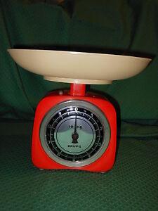 Bilancia Krups 10 kg. Made in Ireland Modernariato SGR1 ^