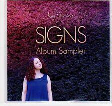 (EC99) Kaz Simmons, Signs sampler - 2013 DJ CD