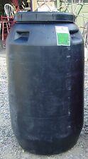 Food Grade 63 Gallon Screw On/Off Top Plastic Barrel for Rain Barrel +more