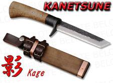 Kanetsune Seki KAGE Damascus Knife w/ Sheath KB-215 NEW