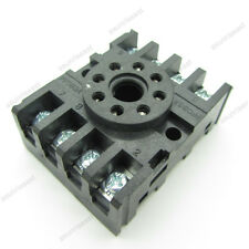 Power Relay Socket Base PF083A  Screw Terminal 8 PIN for Time Relay