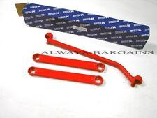 Megan Racing Rear Lower Tie Strut Bars Fits IS300 01-05 3pcs Red MR-SB-LI01RL-R