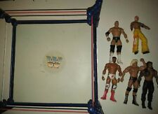 2010 MATTEL WWE CLASSIC WRESTLING RING & ACTION FIGURE LOT