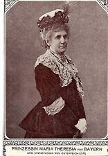 Prinzessin Maria Theresia v. Bayern  Historische Memorabile K.K.Monarchie 1908