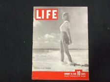 1946 JANUARY 14 LIFE MAGAZINE - SOUTHERN RESORT FASHIONS- L 478