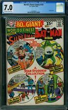 World's Finest Comics #161 CGC 7.0 -CURT SWAN & DICK SPRANG Art- 80 Page Giant