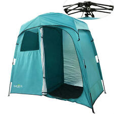 Quictent 2-Room Pop Up Automatic Shower Tent/Changing/Toilet Room Shelter